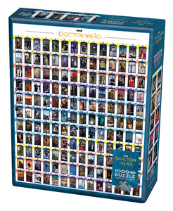 Doctor Who : Episode Guide - Cobble Hill 1000pc Puzzle
