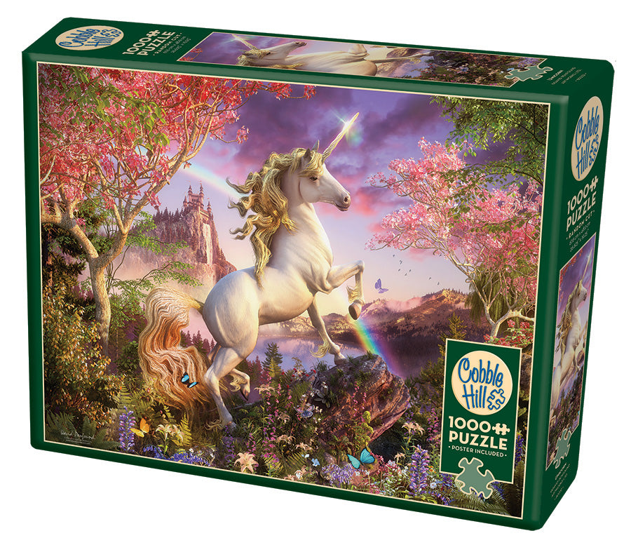 Unicorn - Cobble Hill 1000pc Puzzle
