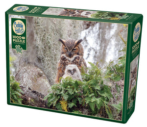 Great Horned Owl - Cobble Hill 1000pc Puzzle