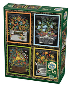 Floral Objects - Cobble Hill 1000pc Puzzle