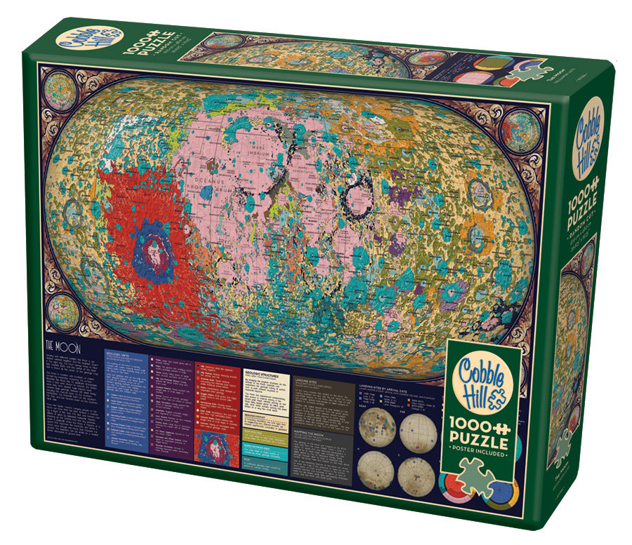 The Moon - Cobble Hill 1000pc Puzzle