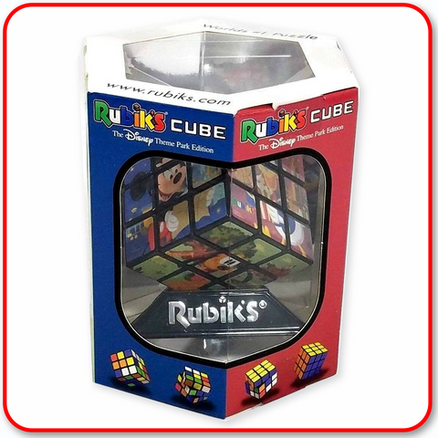 Disney Parks Rubiks Cube Mickey Mouse and Friends Attractions 3""
