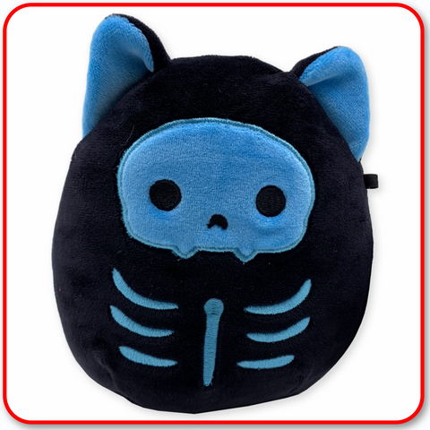 "Squishmallows - HALLOWEEN 7"" Stump the Blue Skeleton Cat"
