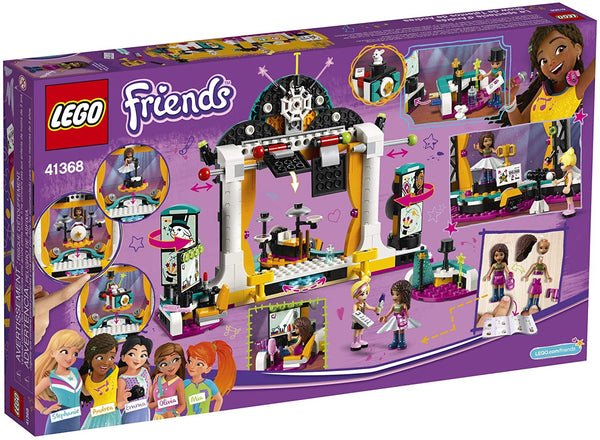LEGO Friends - Andrea's Talent Show 41368 Building Kit, New 2019