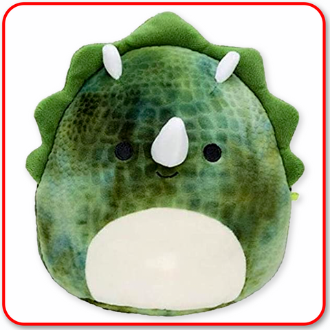 "Squishmallows - 12"" FANTASY Trey the Green Dinosaur"