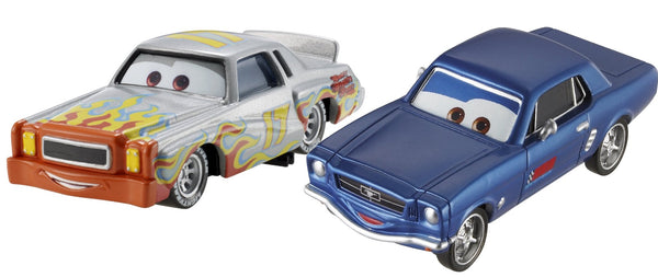 Disney Cars - Character 2 Pack : Darrell Cartrip / Brent Mustangburger