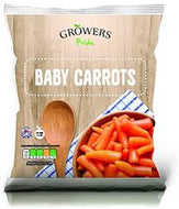 Frozen Baby Carrots by Growers Pride - 450g