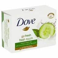 Dove Beauty Cream Soap Bar Cucumber & Green Tea x 4