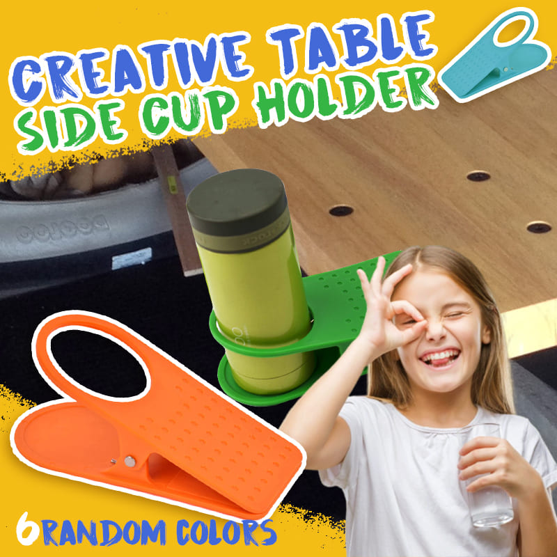 Creative Table Side Cup Holder