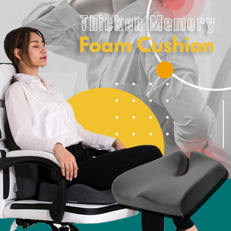 Thicken Memory Foam Cushion