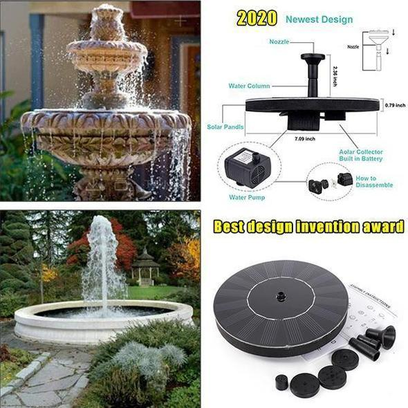 Solar Floating Fountain