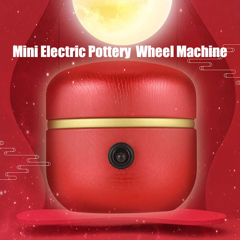 Mini Electric Pottery Wheel Machine