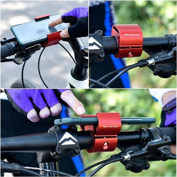Invisible Cycling Phone Holder