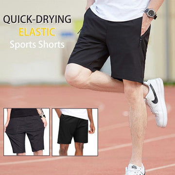 Stretch Sports Shorts Pants Quick-Drying