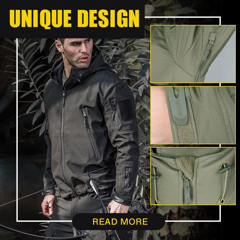 Outdoor Waterproof Military Tactical Jacket