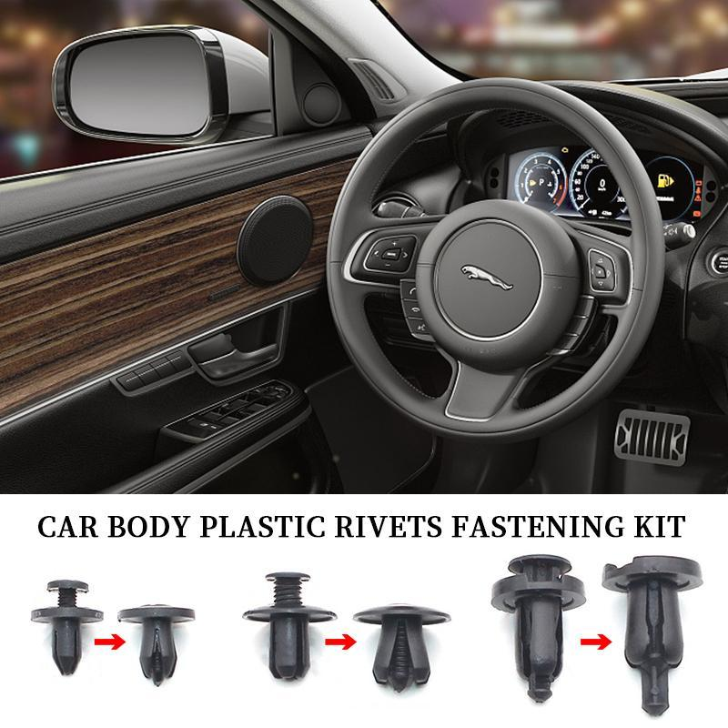 Car Body Plastic Rivets Fastening Kit