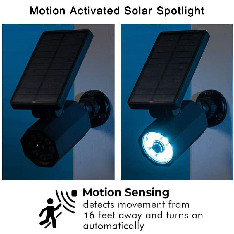 Motion Activated Solar Spotlight