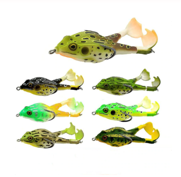 Double Propeller Frog Soft Bait ( 50% OFF TODAY! )