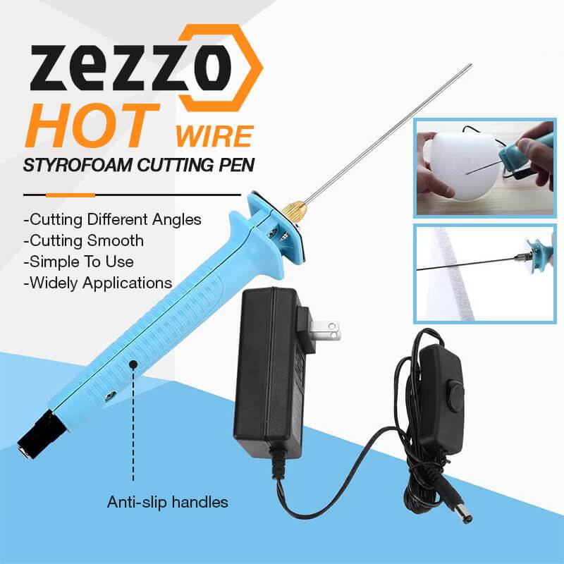 Zezzo® Hot Wire Styrofoam Cutting Pen