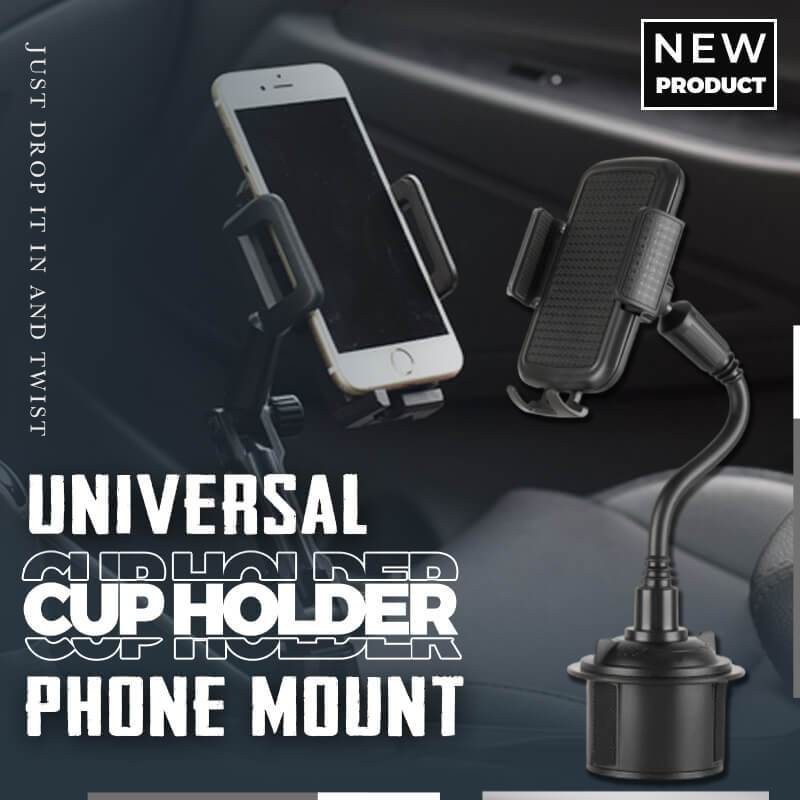 (USA Shipping) Universal Cup Holder Phone Mount