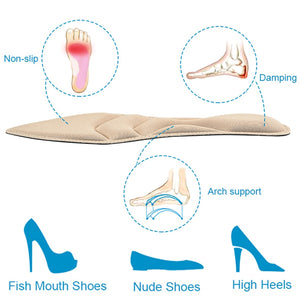 Women Insoles For High Heel Shoes