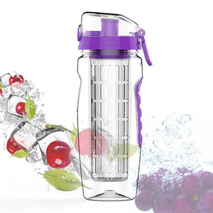 1L Fruit Infuser Portable Water Bottle