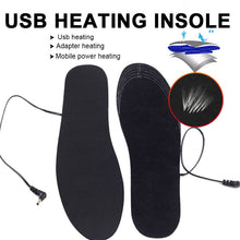 Load image into Gallery viewer, USB Heated Foot Warming Insole