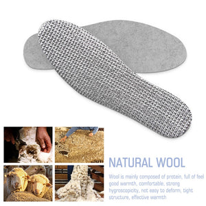 Felt Aluminum Foil Insoles, Warm in Winter, Cool in Summer