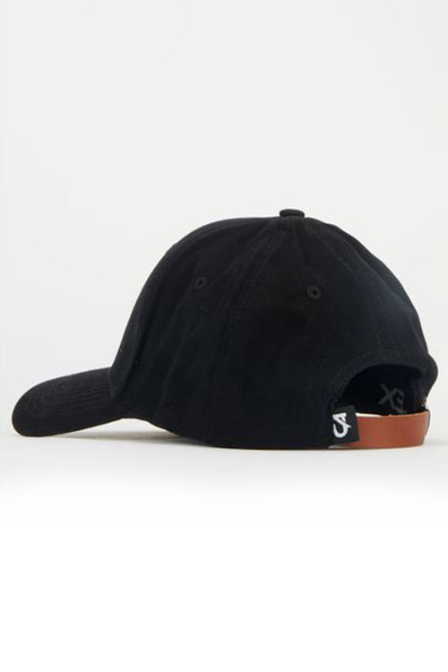 Custom Social Peak Cap | Black