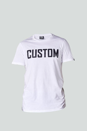 Custom Long Line Tee | White