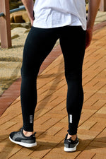 Long Compression Tights | Black