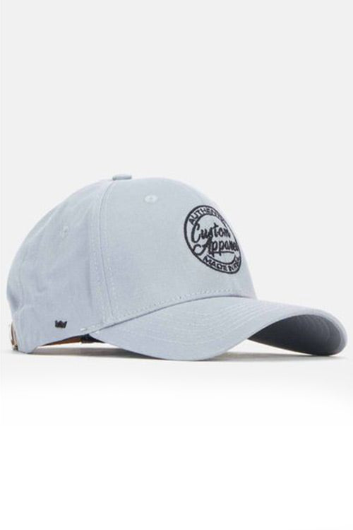 Custom Social Peak Cap | Grey