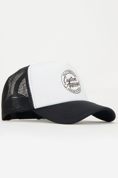 Custom Trucker Cap | Beach Style | White