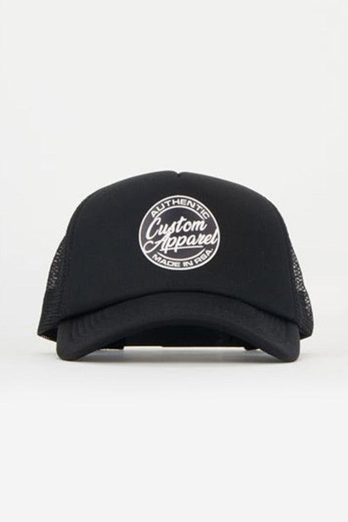 Custom Trucker Cap | Beach Style | Black