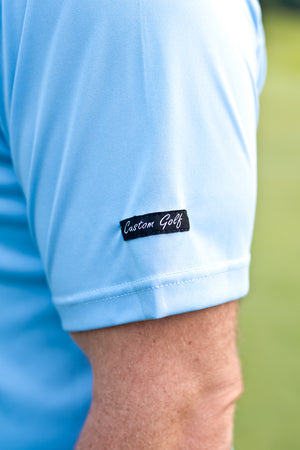 CA Iconic Golf Shirt | Baby blue