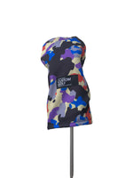 Driver Head Cover | Purple/Blue Camo