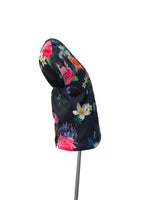 Driver Head Cover | Black Floral