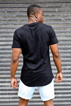 Custom Signature Tee | Black