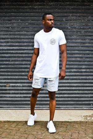 Custom League Tee | White