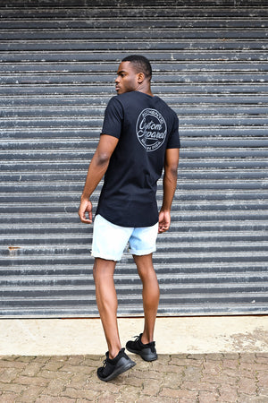 Custom League Tee | Black