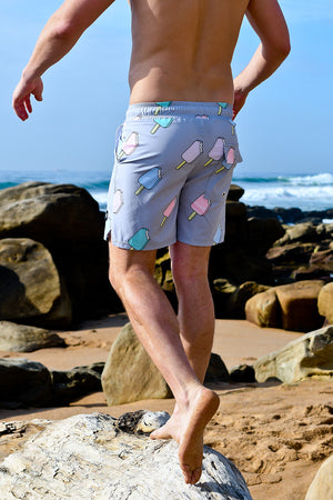 Hybrid Board Shorts | Ice Cream