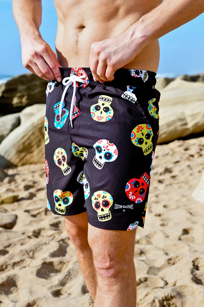 CA Hybrid Board Shorts | Sugar Skulls