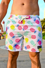 CA Hybrid Board Shorts | Pineapples