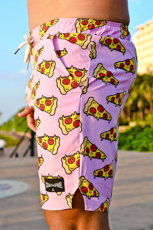 CA Hybrid Board Shorts | Pizza
