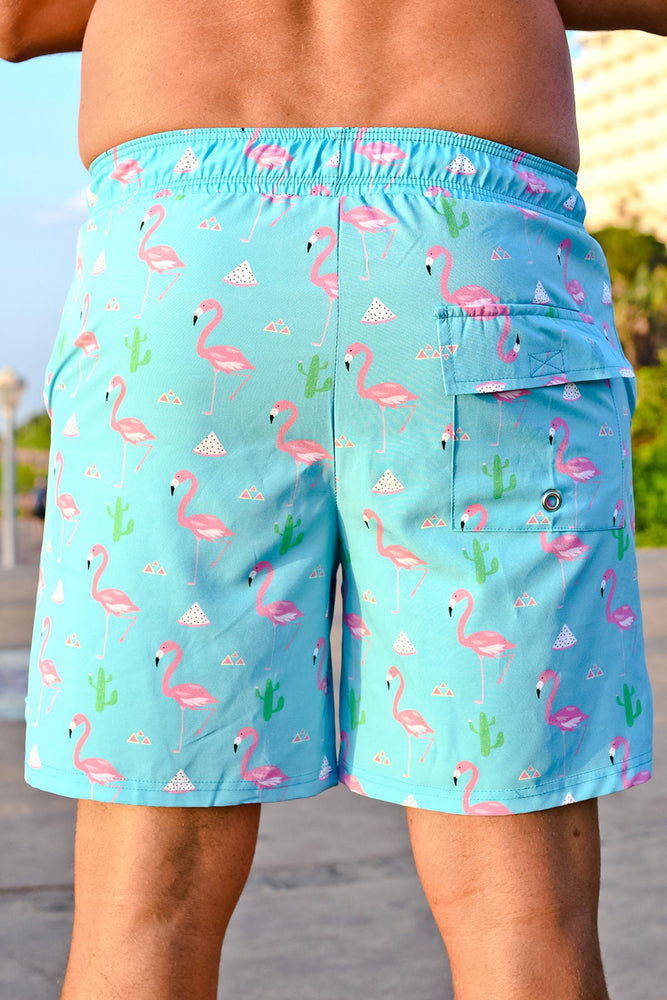 CA Hybrid Board Shorts | Flamingo