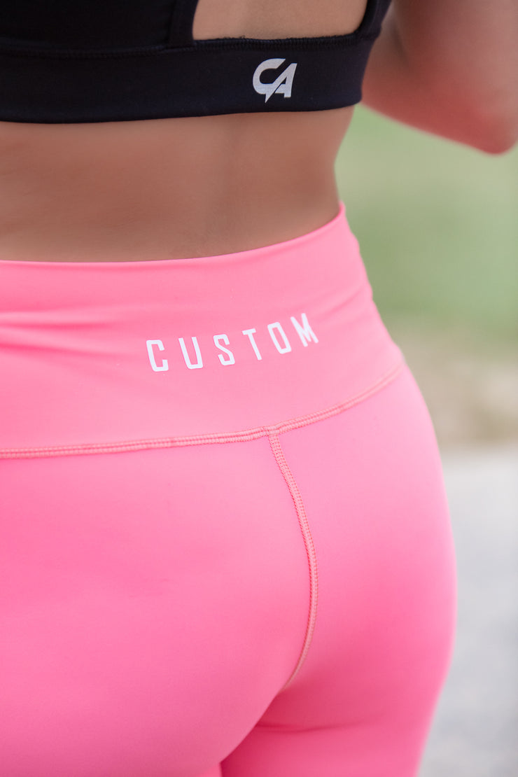 CA High-Waisted Platinum 2.0 Tights | Coral