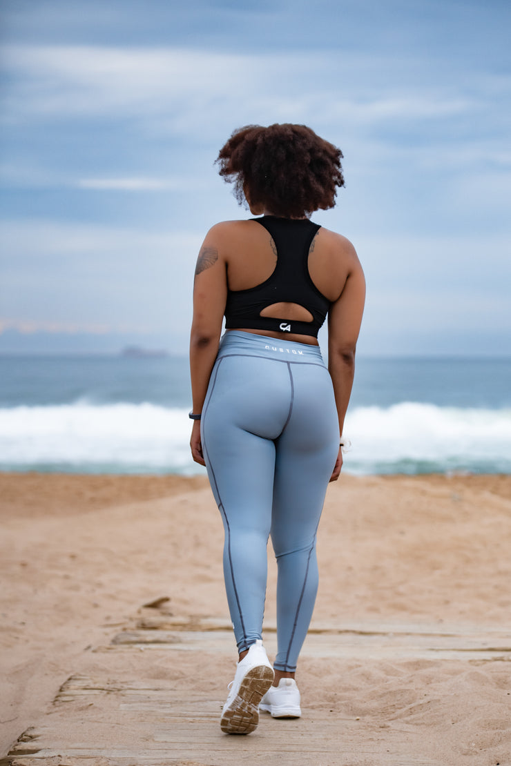 CA High-Waisted Platinum 2.0 Tights | Titanium