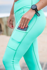 High-Waisted Platinum 2.0 Tights | Mint