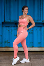 Seamless Adapt Tights | Coral
