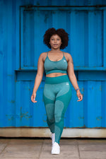 Seamless Adapt Tights | Sea Green